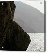 Seascape Silver Light Acrylic Print