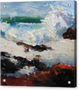 Seascape Aceo  Acrylic Print