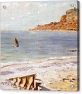Seascape At Sainte Adresse  Acrylic Print
