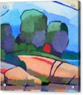 Seascape IIi Acrylic Print