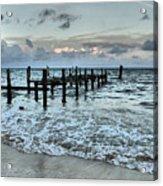 Seascape Puerto Morelos Acrylic Print