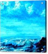 Seascape Scene Near Northbrooke-on-sea L A Acrylic Print