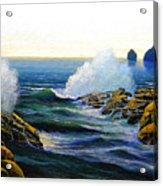Seascape Study 3 Acrylic Print