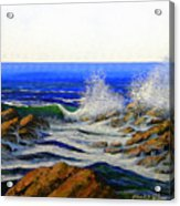 Seascape Study 4 Acrylic Print