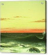 Seascape Sunset 1861 Acrylic Print
