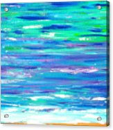 Seashell Shore Acrylic Print