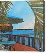 Seaside Balcony Acrylic Print