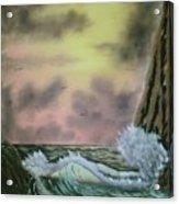 Seaside Cliffs Acrylic Print
