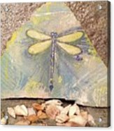 Seaside Dragonfly Acrylic Print
