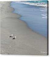 Seaside Holiday Acrylic Print