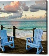 Seaside In Antigua Acrylic Print