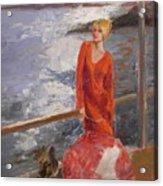 sold Seaside Interest Acrylic Print