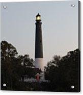 Seaside Lamp Acrylic Print