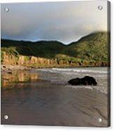 Seaside Reflections, County Kerry, Ireland Acrylic Print