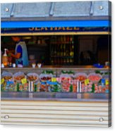 Seaside Shellfish Snack Shack Acrylic Print