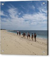 Seaside Walk Nosy Ve Madagascar Acrylic Print