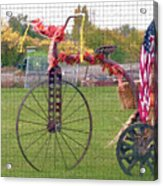 Seasonal Antique Tricycle 1 Acrylic Print