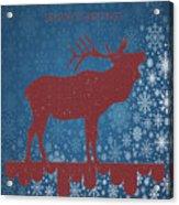 Seasonal Greetings Artwork Acrylic Print