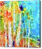 Seasonal Stream Of Consciousness Acrylic Print