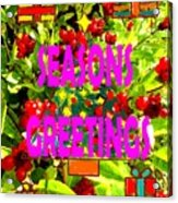 Seasons Greetings 10 Acrylic Print