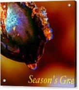 Season's Greetings- Iced Light Acrylic Print