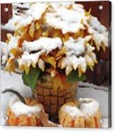 Seasons Meet And Greet Acrylic Print