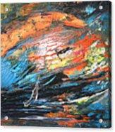 Seastorm Acrylic Print