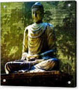 Seated Buddha Acrylic Print