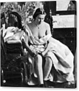 Seated Nude, C1861 Acrylic Print
