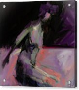 Seated Nude IIi Acrylic Print