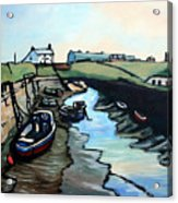 Seaton Sluice Harbour Acrylic Print