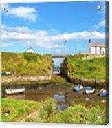 Seaton Sluice Harbour Acrylic Print