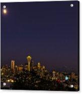 Seattle After Dak Acrylic Print