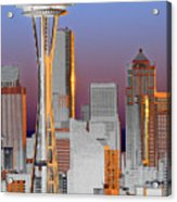 Seattle Architecture Acrylic Print