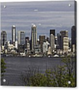 Seattle At Its Best Acrylic Print