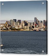Seattle By Sea Acrylic Print