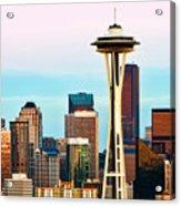 Seattle Daylight Acrylic Print
