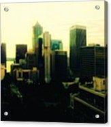 Seattle - Downtown Acrylic Print