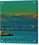 Seattle Evening Acrylic Print