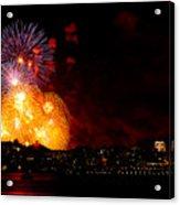 Seattle Fireworks Acrylic Print