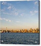 Seattle Landscape Acrylic Print