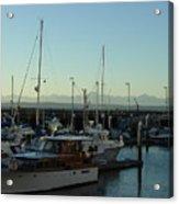 Seattle Marina Acrylic Print