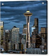 Seattle Night Acrylic Print