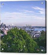 Seattle Panorama Acrylic Print