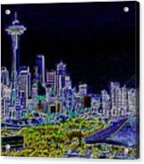 Seattle Quintessence Acrylic Print