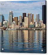 Seattle Reflection Acrylic Print