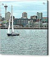 Seattle Sail Acrylic Print