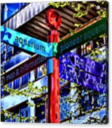 Seattle Sights Acrylic Print