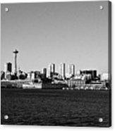 Seattle Skyline #2 Acrylic Print