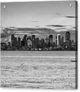 Seattle Skyline 3 Acrylic Print